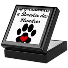 Bouvier des Flandres Grandchild Keepsake Box