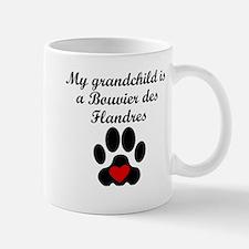 Bouvier des Flandres Grandchild Mugs