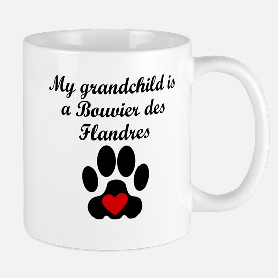 Bouvier des Flandres Grandchild Mugs