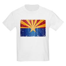 Arizona Flag Distressed T-Shirt