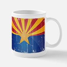 Arizona Flag Distressed Mug