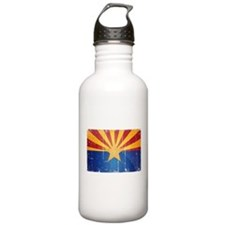 Arizona Flag Distressed Water Bottle