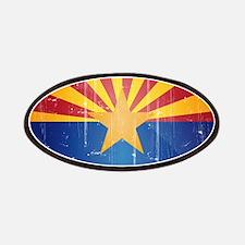Arizona Flag Distressed Patches