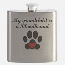 Bloodhound Grandchild Flask