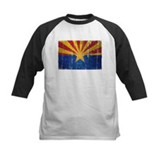 Arizona Flag Distressed Tee