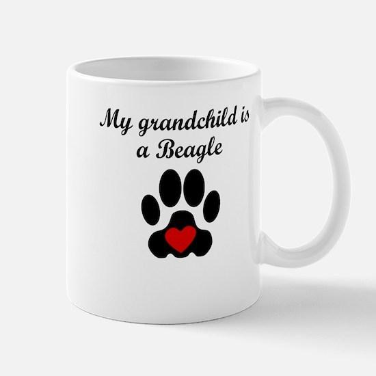 Beagle Grandchild Mugs