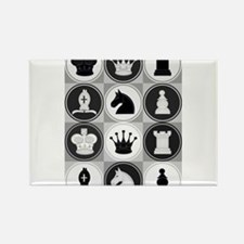 Chessboard Pattern Magnets