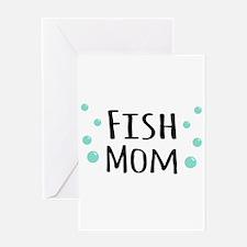 Fish Mom Greeting Cards