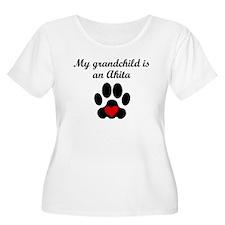Akita Grandchild Plus Size T-Shirt