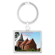 Church of Berkenthin Landscape Keychain