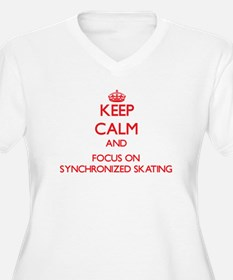 Keep calm and focus on Synchronized Skating Plus S