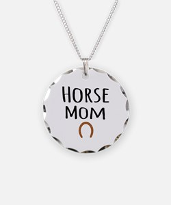 Horse Mom Necklace