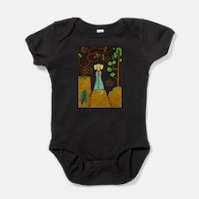 Golden Fur Baby Bodysuit