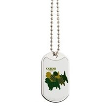 Cairn Terrier Silhouttes Dog Tags