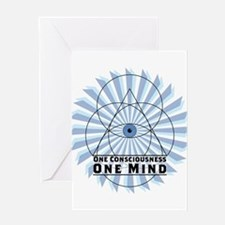 3rd Eye - One Consciousness One Mind Greeting Card
