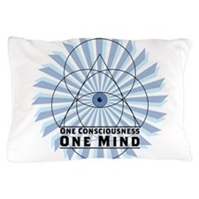 3rd Eye - One Consciousness One Mind Pillow Case