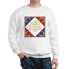 Napoleon's Guard flag Sweatshirt