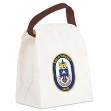 USS Normandy (CG-60) Canvas Lunch Bag