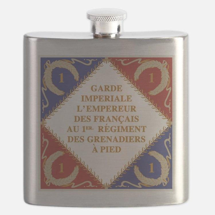 Napoleon's Guard flag Flask