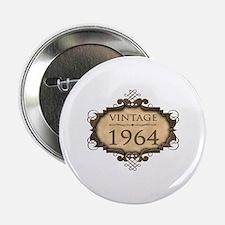 "1964 Birth Year (Rustic) 2.25"" Button"