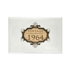 1964 Birth Year (Rustic) Rectangle Magnet (10 pack