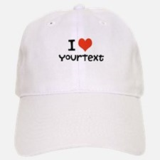 CUSTOMIZE I heart Baseball Baseball Baseball Cap