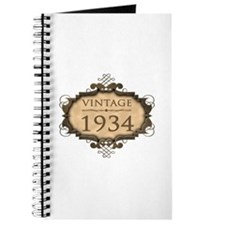 1934 Birth Year (Rustic) Journal