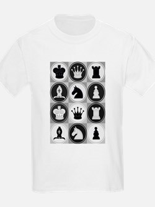 Chessboard Pattern T-Shirt