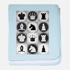 Chessboard Pattern baby blanket