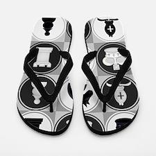 Chessboard Pattern Flip Flops