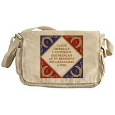 Napoleon's Guard flag Messenger Bag
