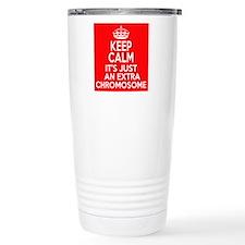 Stay Calm Chromosome Travel Mug