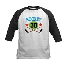 Hockey Player Number 30 Tee