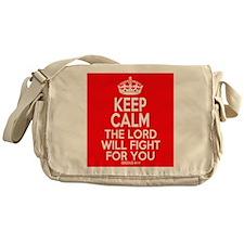 Keep Calm Exodus Messenger Bag