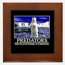 Predators Framed Tile