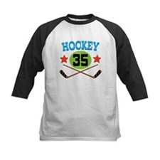 Hockey Player Number 35 Tee