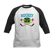 Hockey Player Number 35 Tee