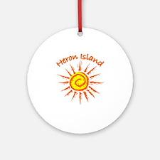 Heron Island, Australia Ornament (Round)
