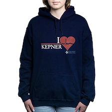 I Heart Kepner - Grey's Anatomy Woman's Hooded Swe