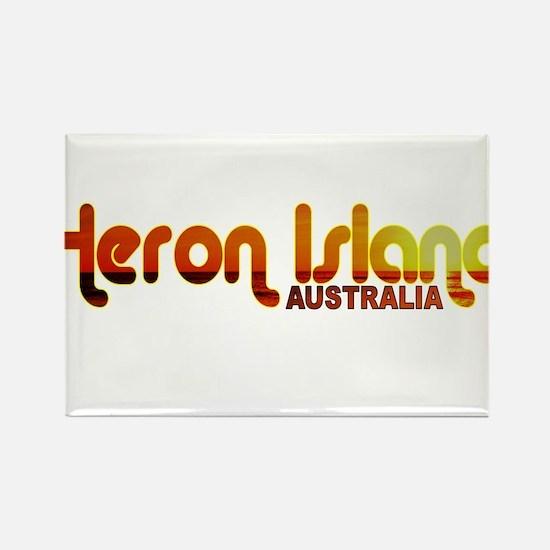 Heron Island, Australia Rectangle Magnet