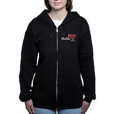 I Heart MerDer - Grey's Anato Women's Zip Hoodie