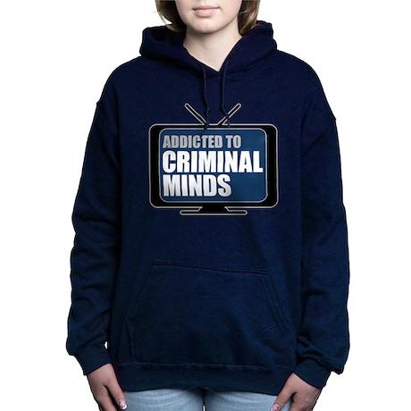 Addicted to Criminal Minds Woman's Hooded Sweatshi