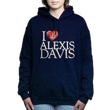 I Heart Alexis Davis Woman's Hooded Sweatshirt