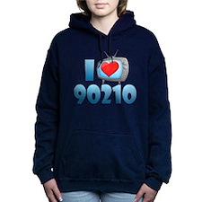 I Heart 90210 Woman's Hooded Sweatshirt