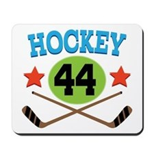 Hockey Player Number 44 Mousepad