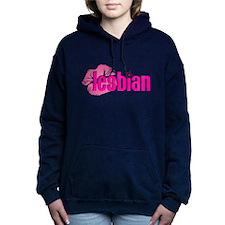 Lipstick Lesbian Woman's Hooded Sweatshirt