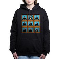 Presidential Squares Woman's Hooded Sweatshirt