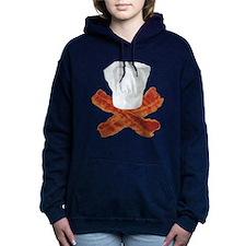Bacon Chef Woman's Hooded Sweatshirt
