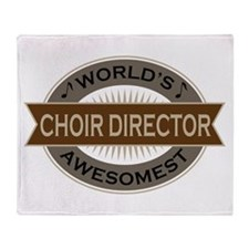 Awesome Choir Director Throw Blanket