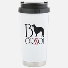 Borzoi Logo Travel Mug